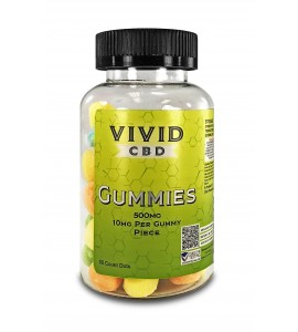CBD Gummies - DOTS 500mg/50ct