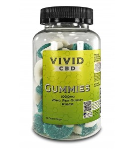 CBD Gummies - RINGS 1000mg, 40ct